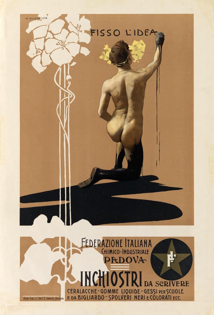 MARCELLO-DUDOVICH-(1878-1962)-FISSO-LIDEA--INCHIOSTRI-DA-SCR