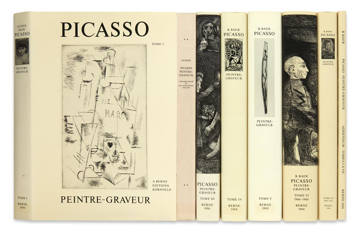 (PICASSO-PABLO)-Geiser-Pablo-and-Brigitte-Baer-Peintre-Grave