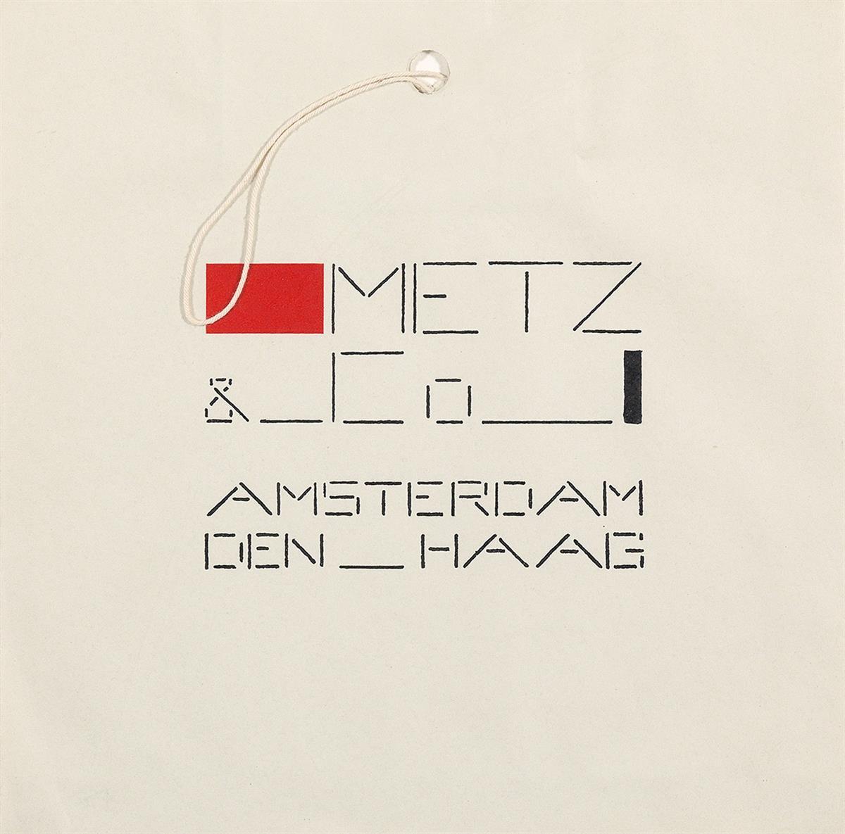 BART-VAN-DER-LECK-(1876-1958)-METZ--CO-Shopping-bag-Circa-19