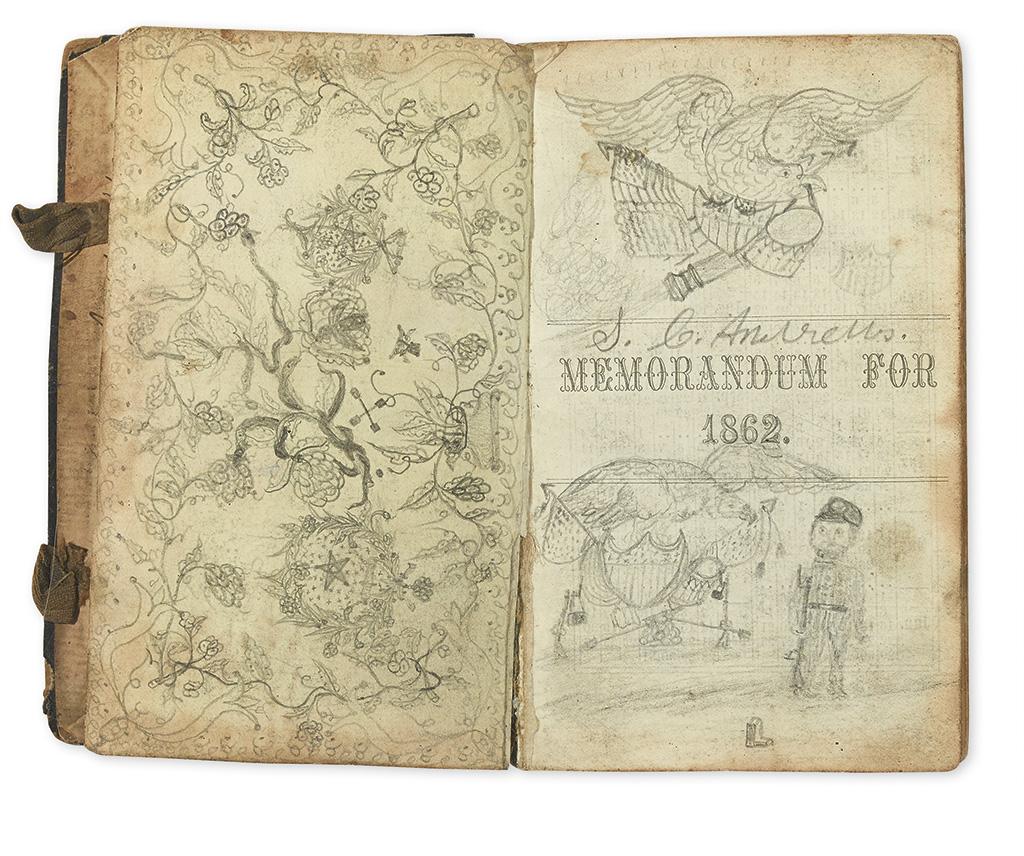 (CIVIL WAR--OHIO.) Andrews, Solomon C. Diary of an Ohio artilleryman at Shiloh and as a prisoner of the Confederates.