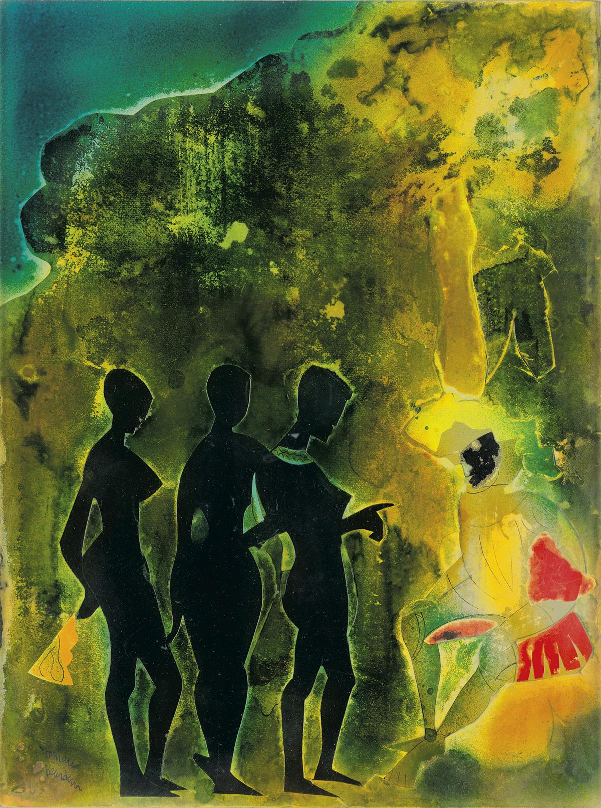 ROMARE-BEARDEN-(1911---1988)-Aphrodite
