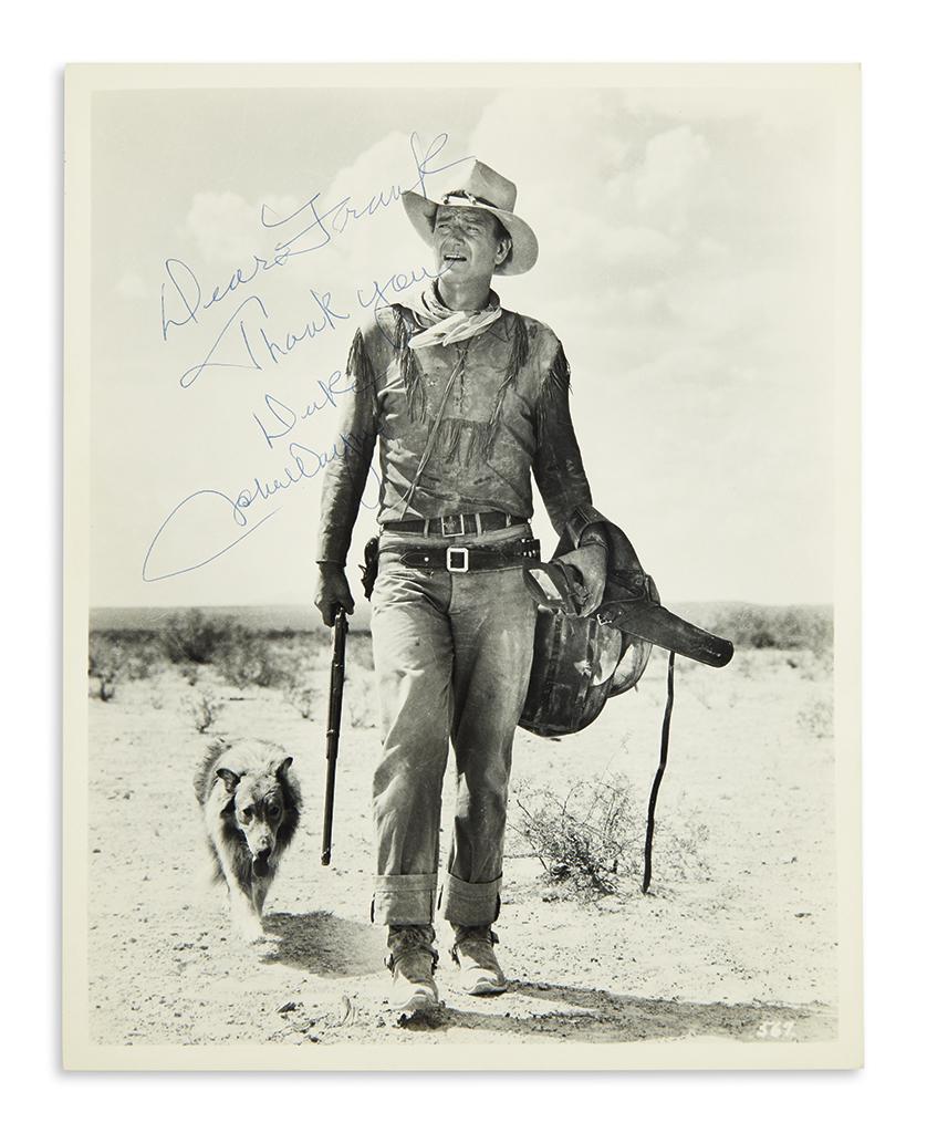 WAYNE-JOHN-Photograph-Signed-and-Inscribed-Dear-Frank--Thank