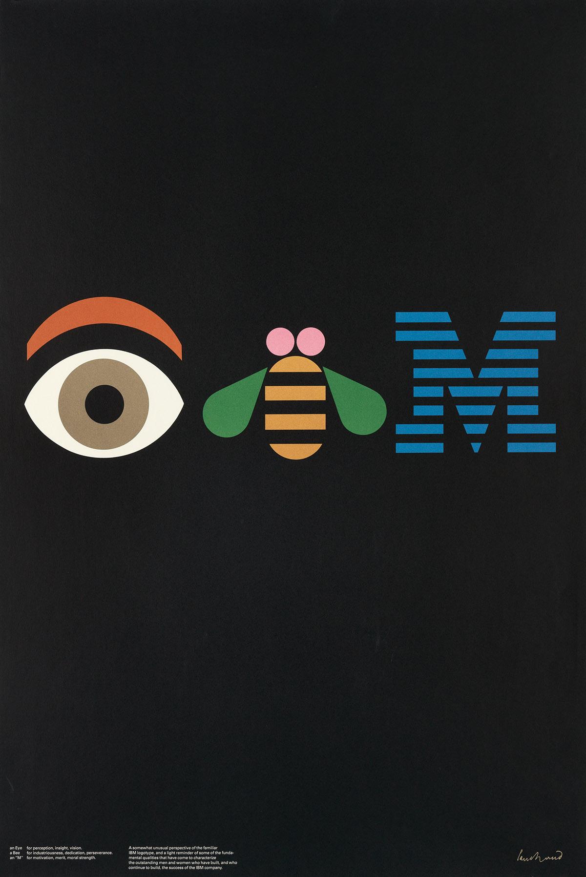 PAUL-RAND-(1914-1996)-IBM-1982-36x24-inches-91x61-cm