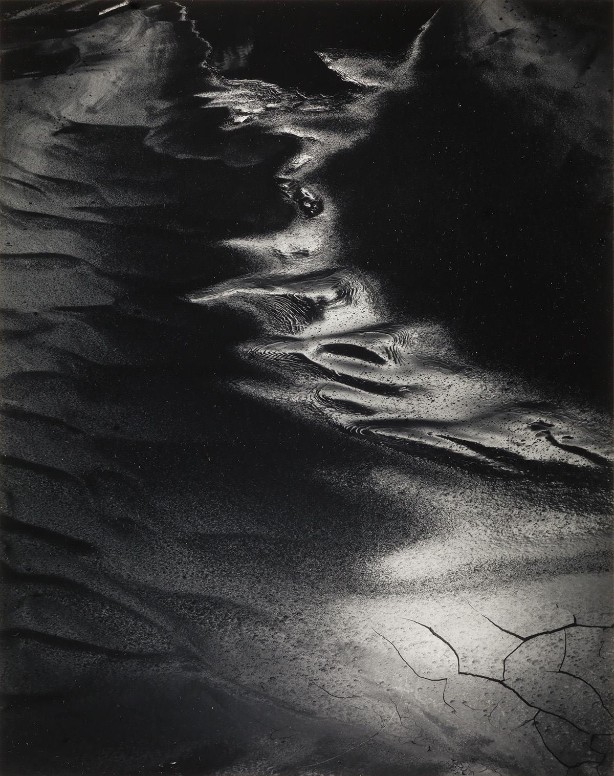 MINOR WHITE (1908-1976) Gallery Gully, Capitol Reef National Park, Utah.