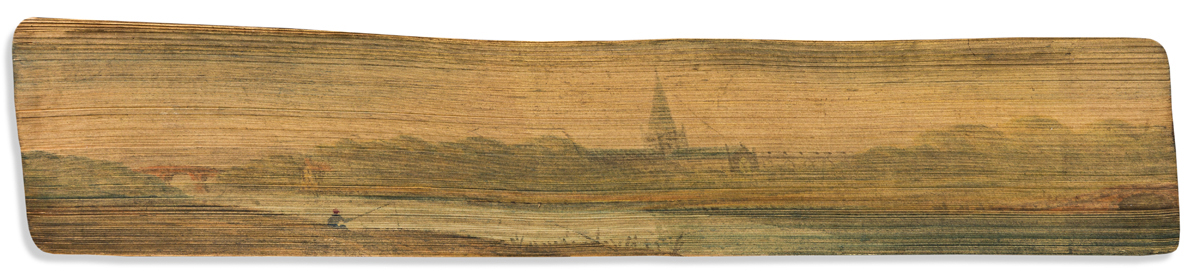 (FORE-EDGE PAINTING.) Chronicles of the Schönberg-Cotta Family.