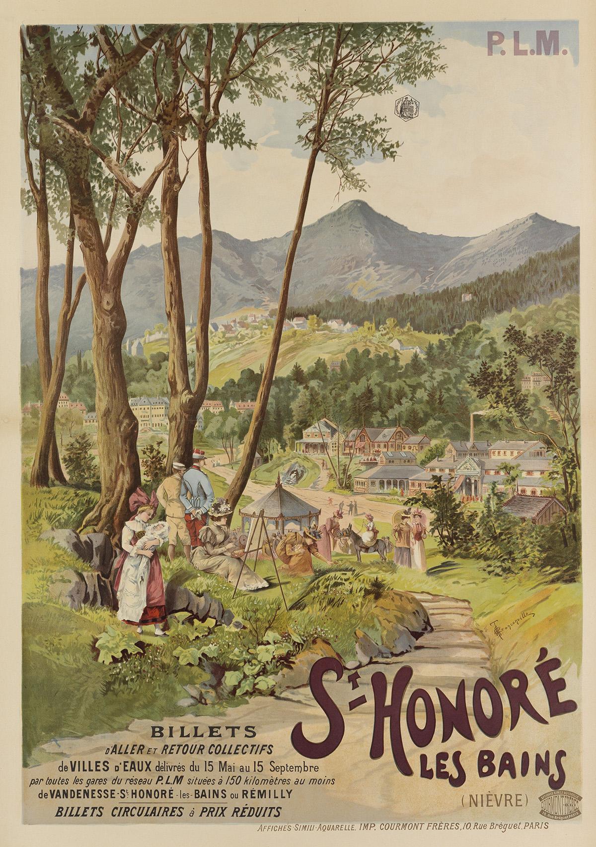 HENRI-GANIER-TANCONVILLE-(1845-1936)-ST-HONORÉ-LES-BAINS-Cir