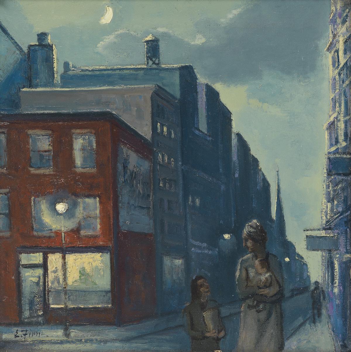 ERNEST-FIENE-Nocturne-New-York