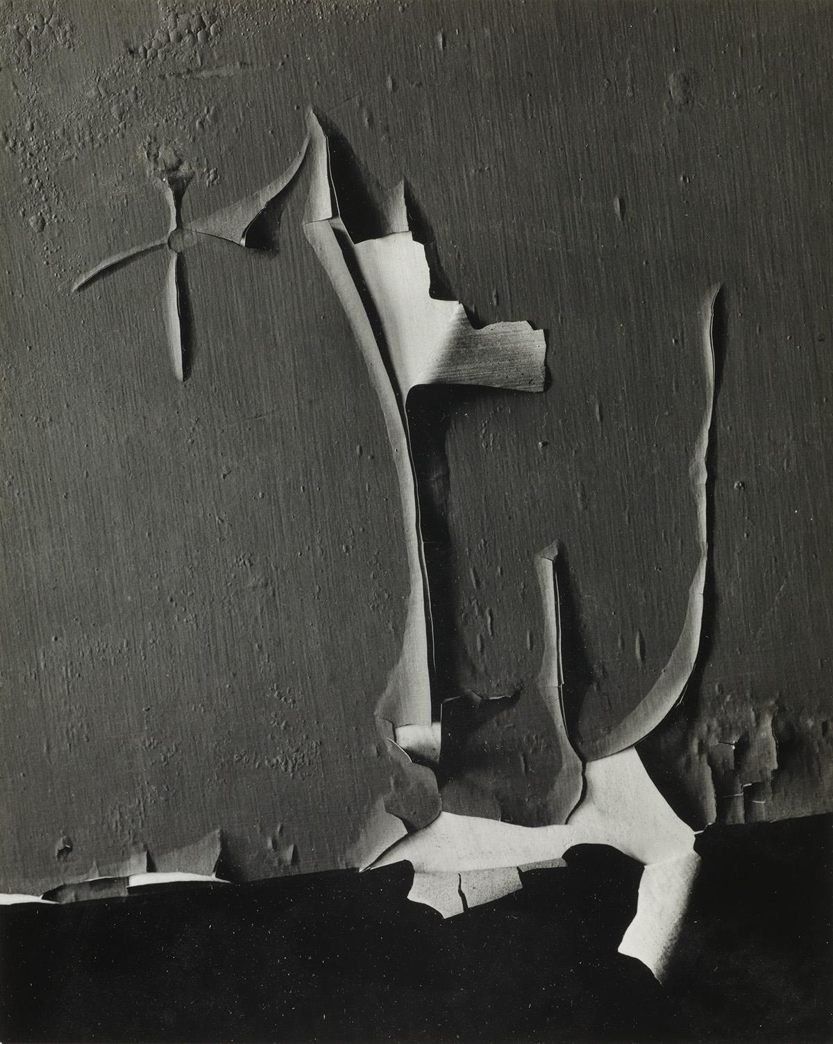 MINOR WHITE (1908-1976) Peeled Paint, Rochester, New York.