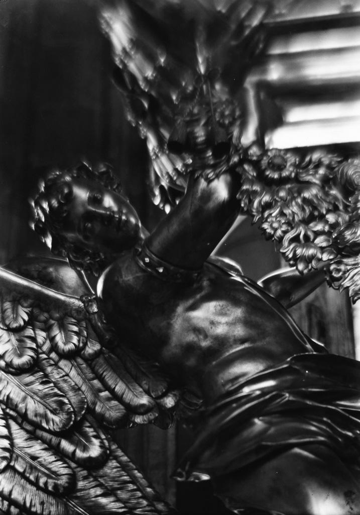 JOSEF SUDEK (1896-1976) Silver angel.