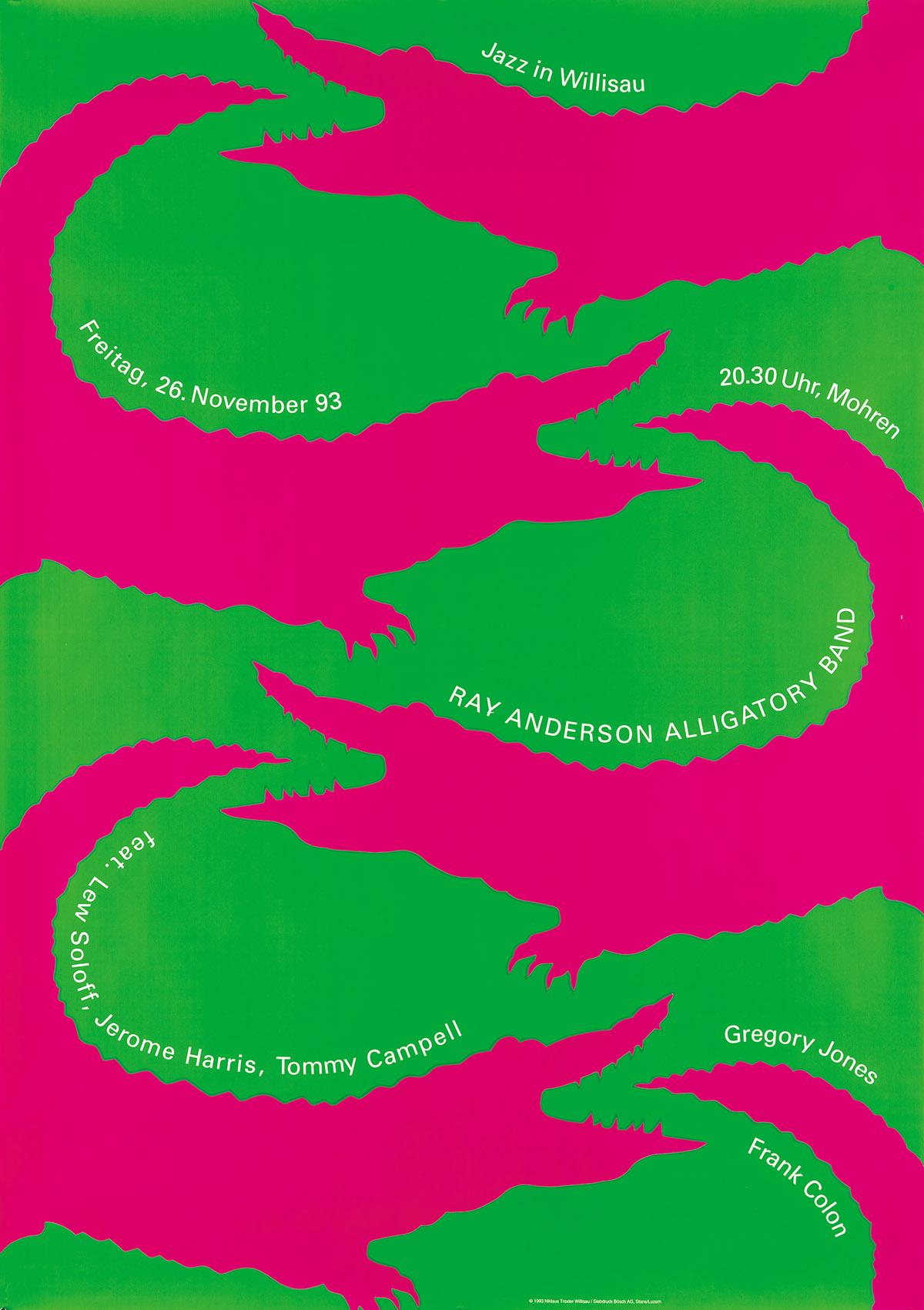 NIKLAUS-TROXLER-(1947--)-[WILLISAU-JAZZ-CONCERTS]-Group-of-5