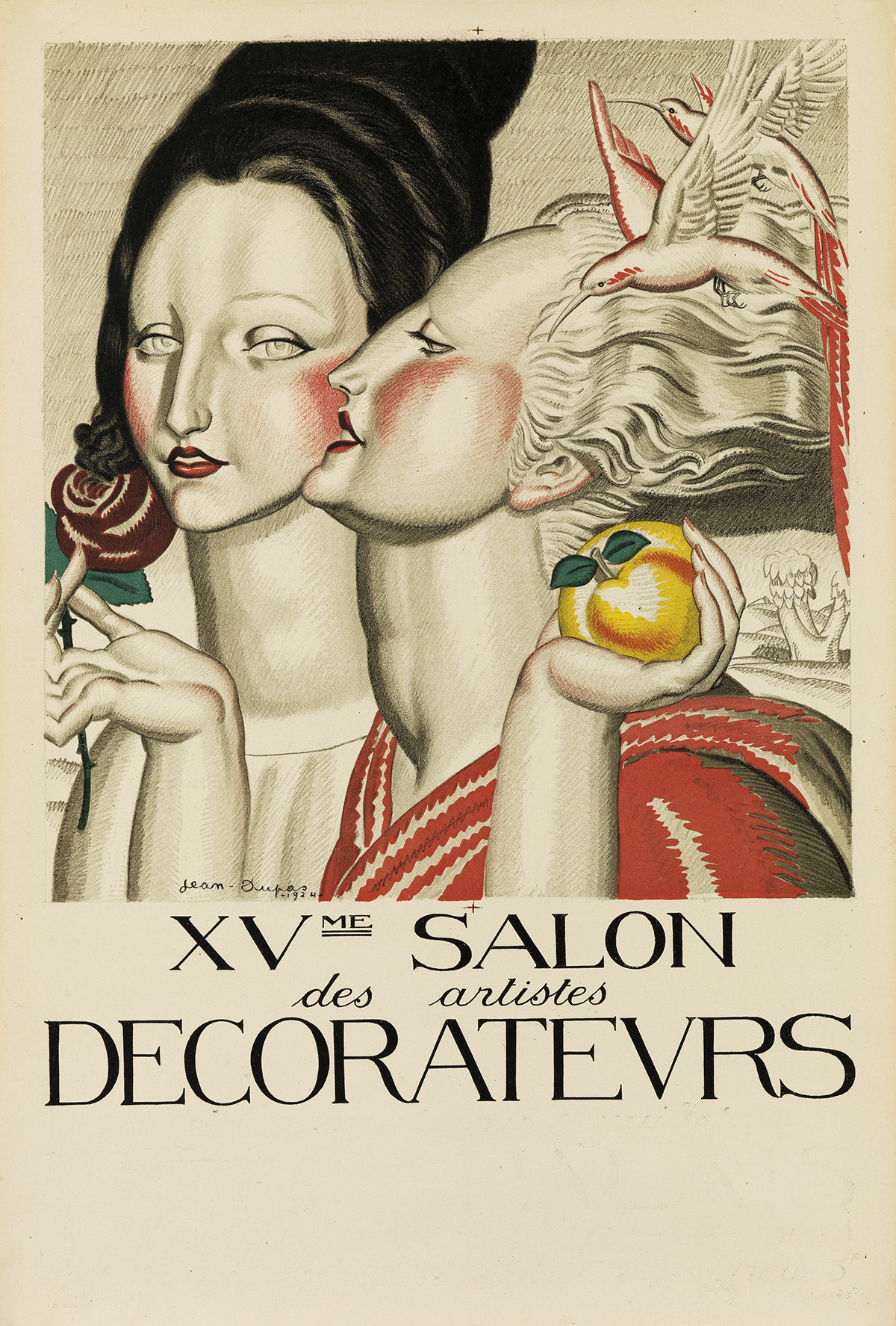 JEAN-DUPAS-(1882-1964)-XVME-SALON-DES-ARTISTES-DECORATEURS-1