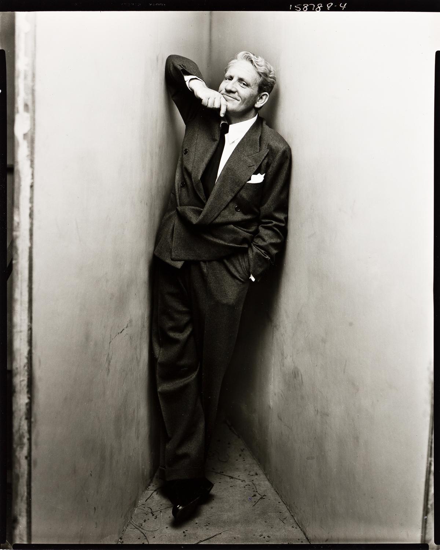 IRVING PENN (1917-2009) Spencer Tracy, New York.
