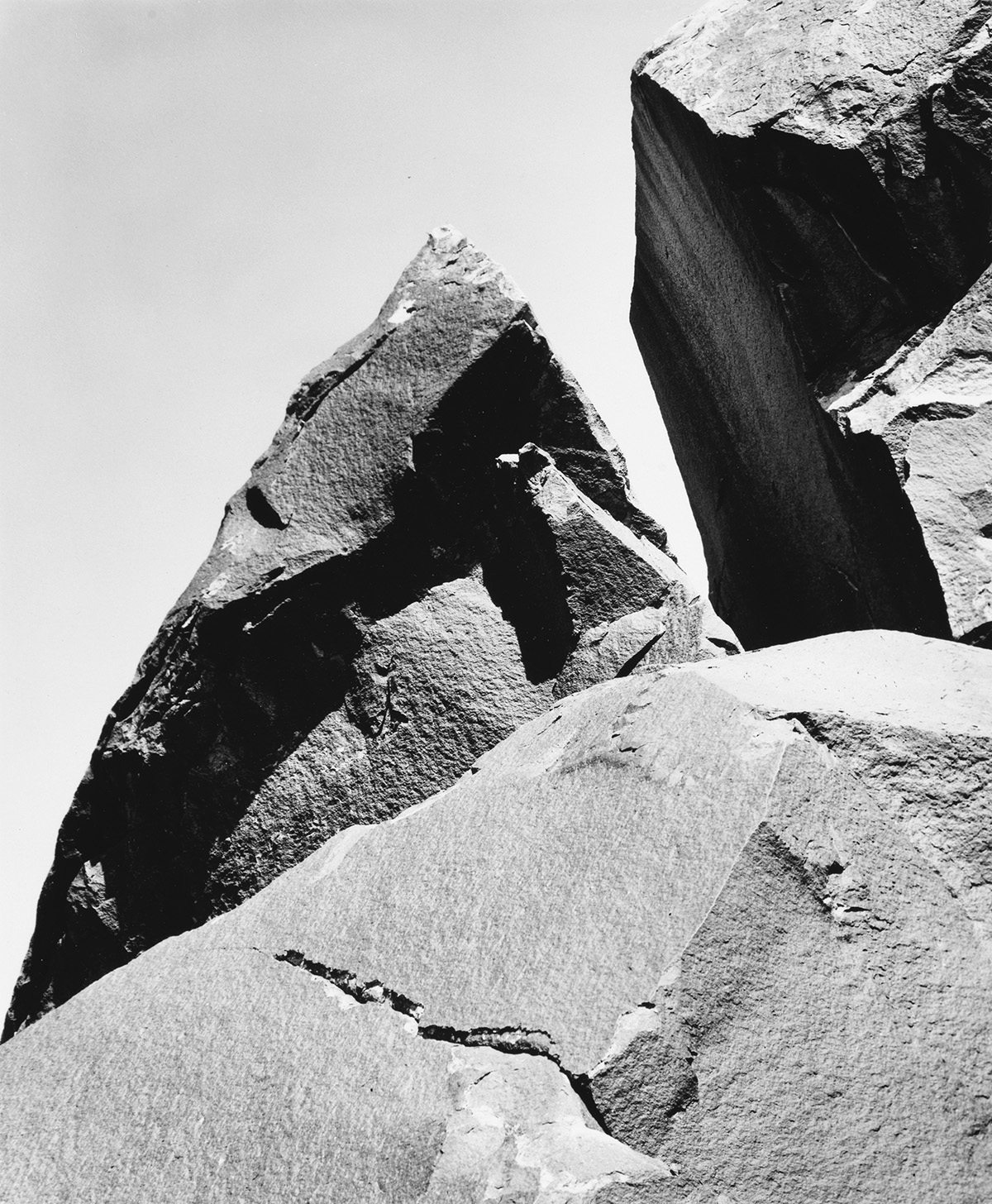 MINOR-WHITE-(1908-1976)-Lichen-Covered-Rocks-Henry-Mountains