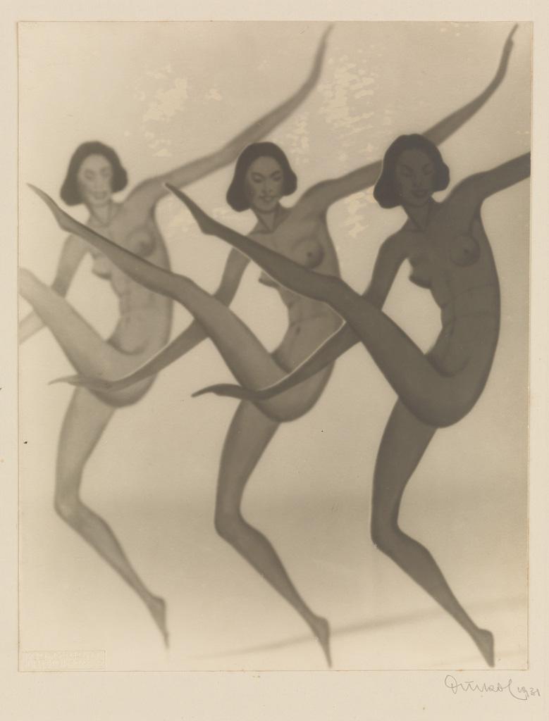 FRANTIŠEK DRTIKOL (1883-1961) Cut-outs of dancing nude figures.
