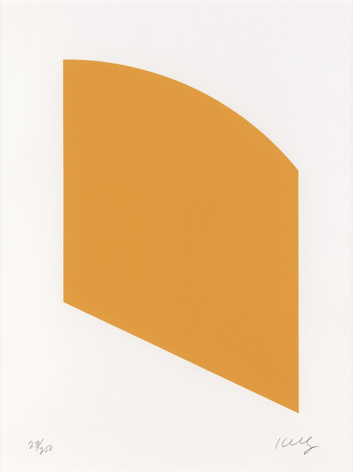 ELLSWORTH KELLY Orange.