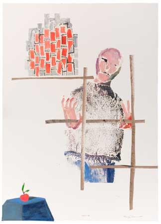 BENNY-ANDREWS-(1930---2006)-Denial-IV
