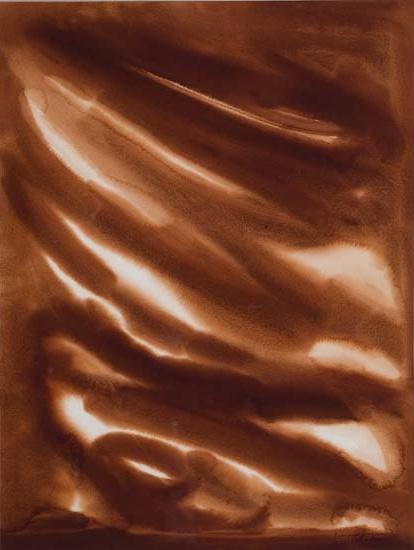 BEAUFORD DELANEY (1901 - 1979) Untitled (Study in Auburn).