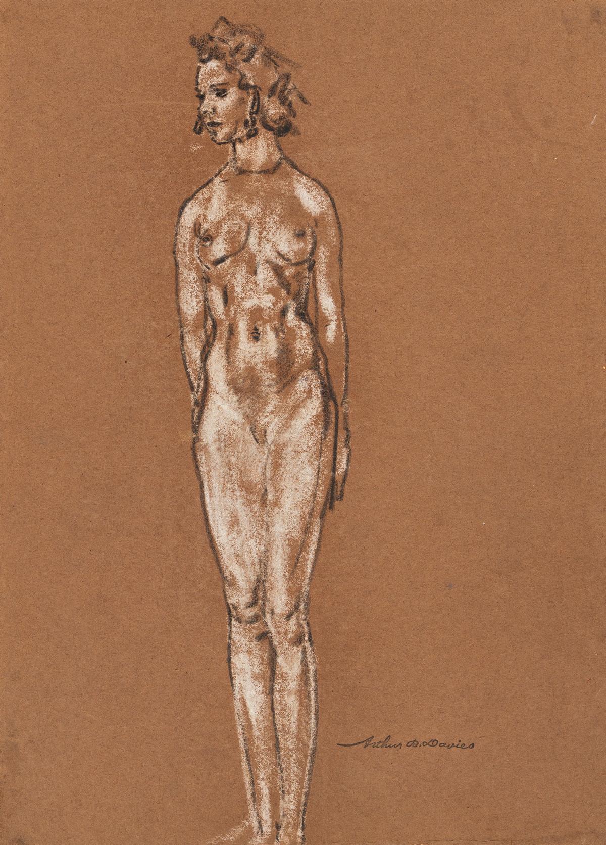 ARTHUR B. DAVIES Nude Study.