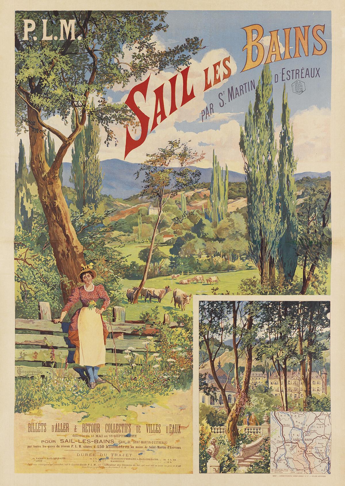 HENRI-GANIER-TANCONVILLE-(1845-1936)-SAIL-LES-BAINS-Circa-18