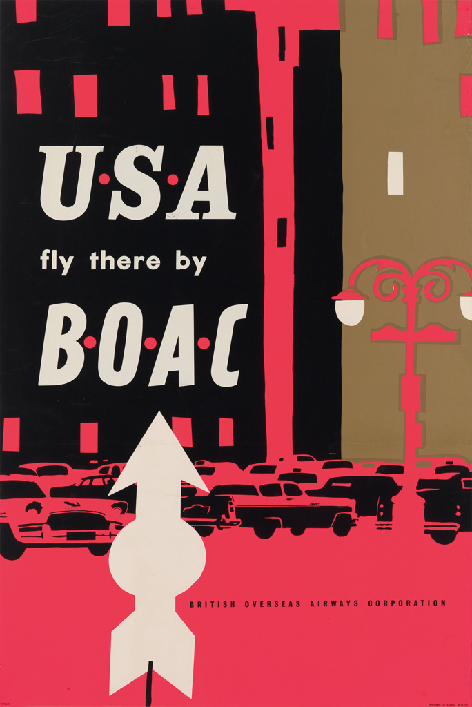 DESIGNER-UNKNOWN-USA-FLY-THERE-BY-BOAC-29x20-inches-75x50-cm
