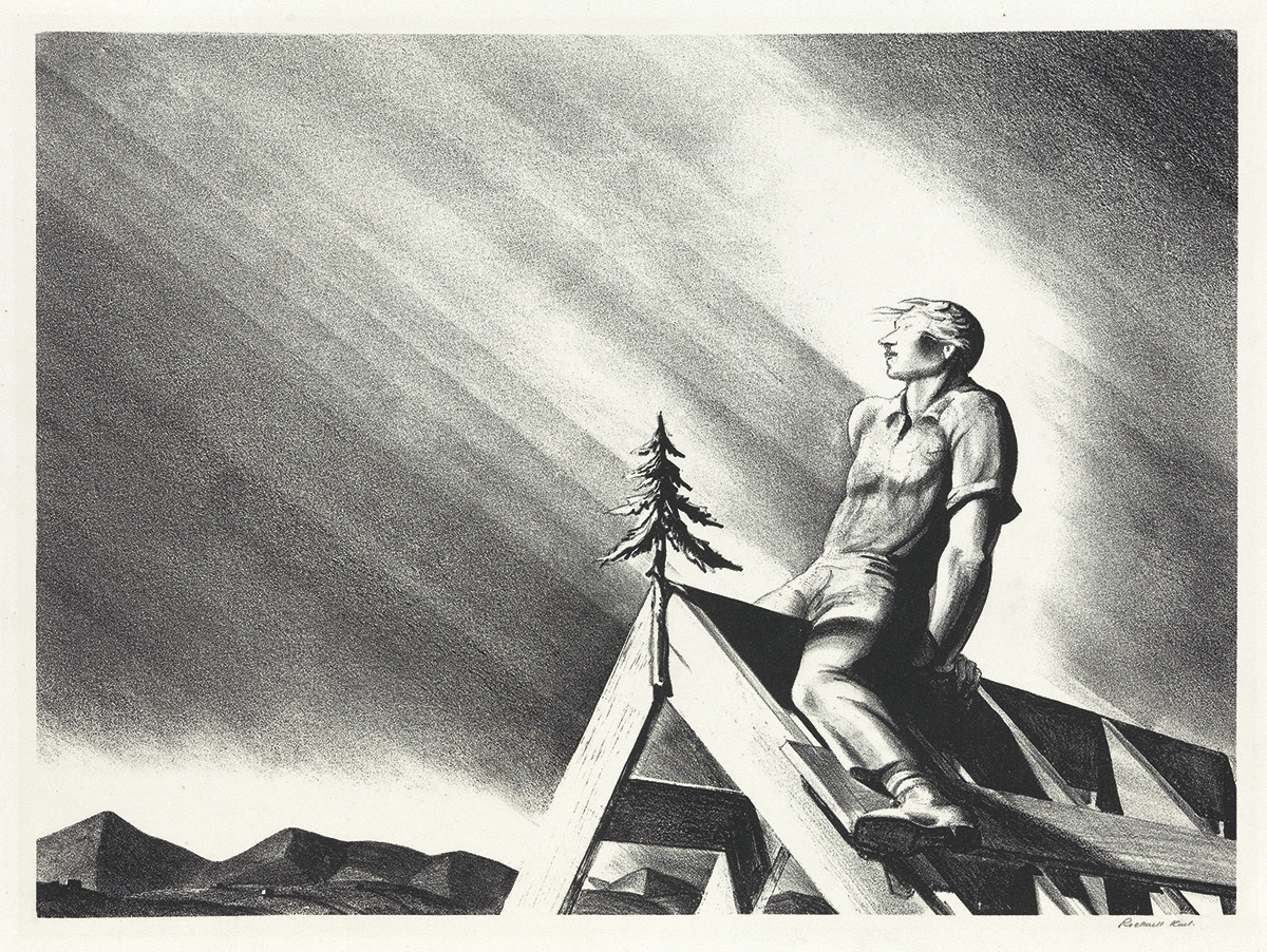 ROCKWELL-KENT-Roof-Tree