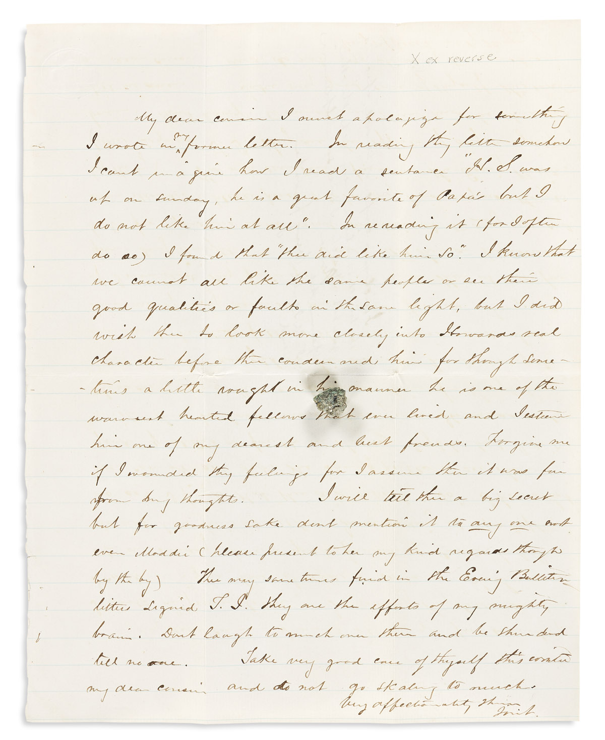 (WEST--COLORADO.) Jonathan L. Cresson. A group of long and detailed letters from the early days of Denver.