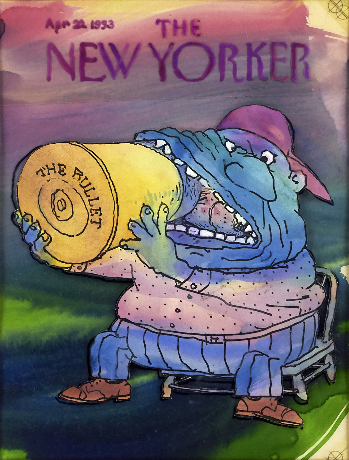 GEORGE-BOOTH-Bite-the-Bullet-[NEW-YORKER--COVER-ART]
