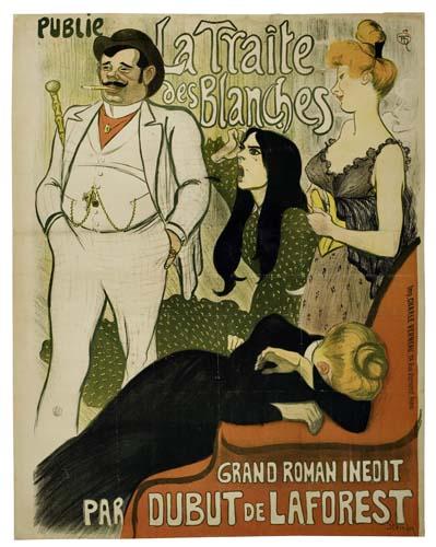 THÉOPHILE-ALEXANDRE-STEINLEN-(1859-1923)-LE-JOURNAL--LA-TRAI