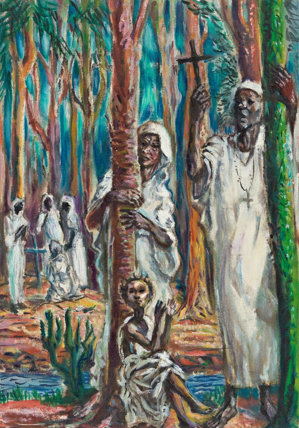 JAMES A. PORTER (1905 - 1970) Seraphim and Cherubim, Lagos.