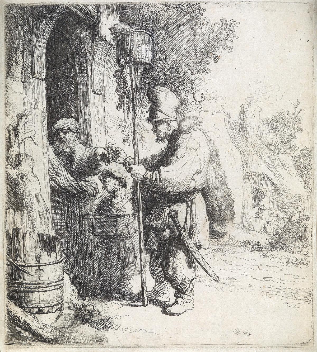 REMBRANDT-VAN-RIJN-The-Rat-Catcher