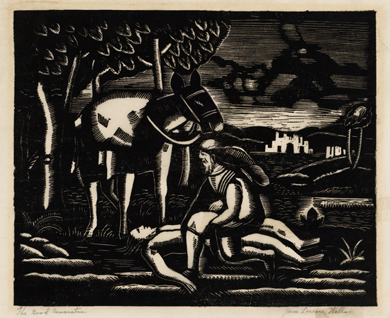 JAMES-LESESNE-WELLS-(1902---1995)-The-Good-Samaritan
