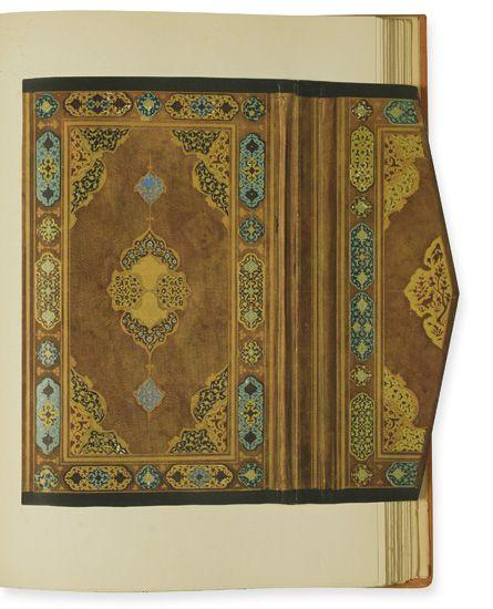 (BOOKBINDING.) Sarre, Friedrich Paul Théodor. Islamic Bookbindings.