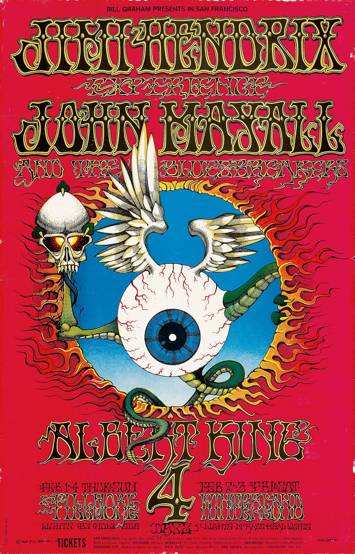RICK-GRIFFIN-(1944-1991)-JIMI-HENDRIX-EXPERIENCE--JOHN-MAYAL