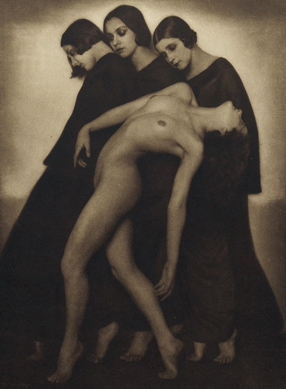 RUDOLF KOPPITZ (1884-1936) Bewegungsstudie.