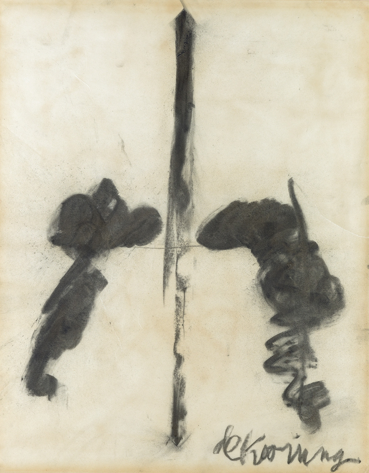 WILLEM DE KOONING Untitled (Washington Monument).