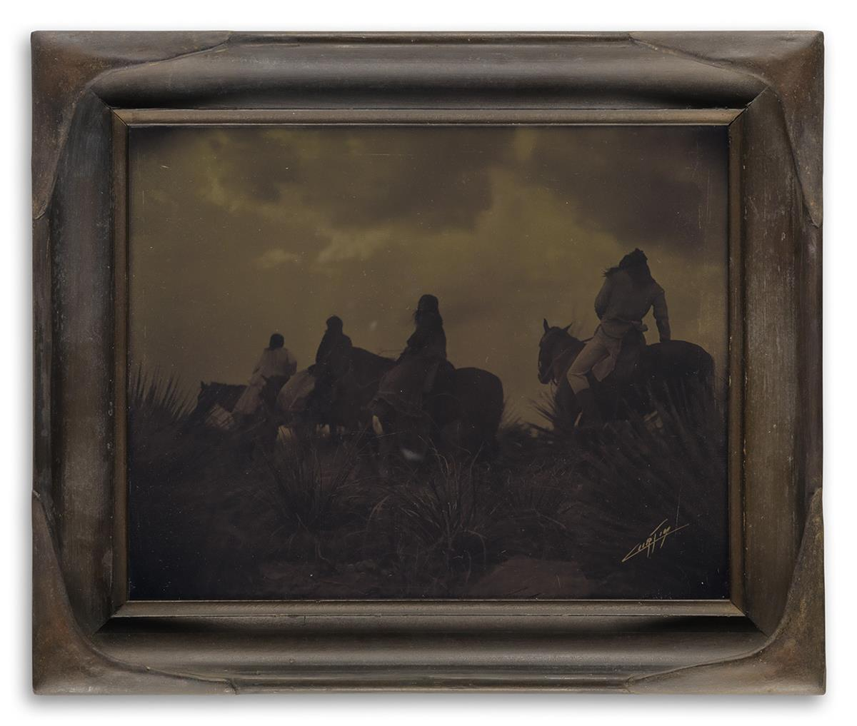 EDWARD S. CURTIS (1868-1952) Before the Storm (Apache).