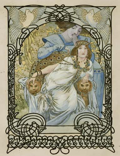 ALPHONSE-MUCHA-(1860-1939)-[ILSÉE-PRINCESSE-DE-TRIPOLI]-1897
