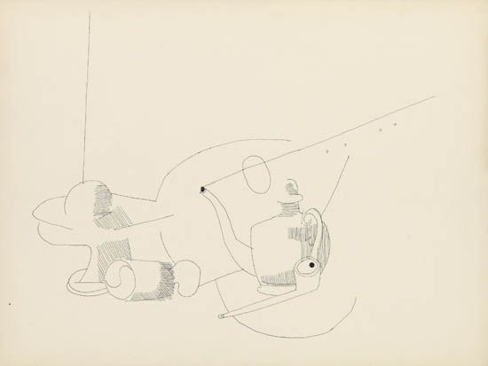 ROBERT BLACKBURN (1920 - 2003) Untitled (Still Life with Mandolin).