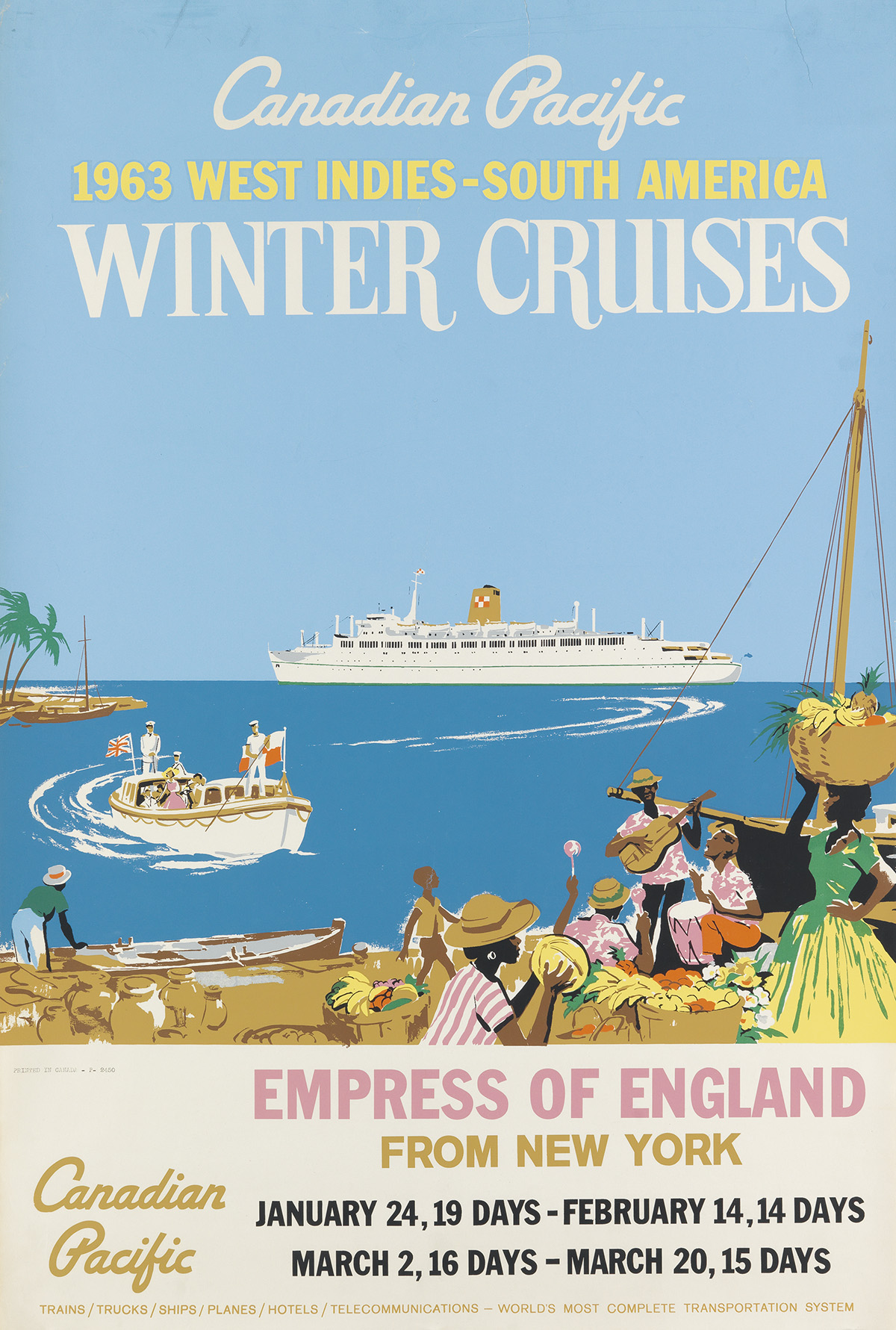 DESIGNER-UNKNOWN-CANADIAN-PACIFIC-WINTER-CRUISES--EMPRESS-OF