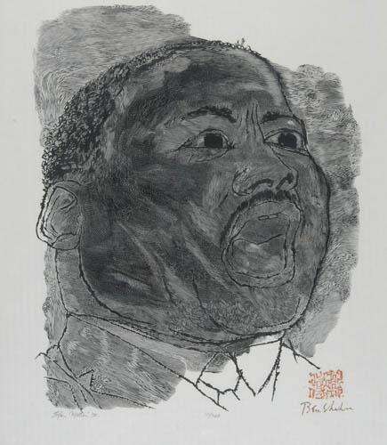 BEN-SHAHN-AND-STEFAN-MARTIN-Martin-Luther-King