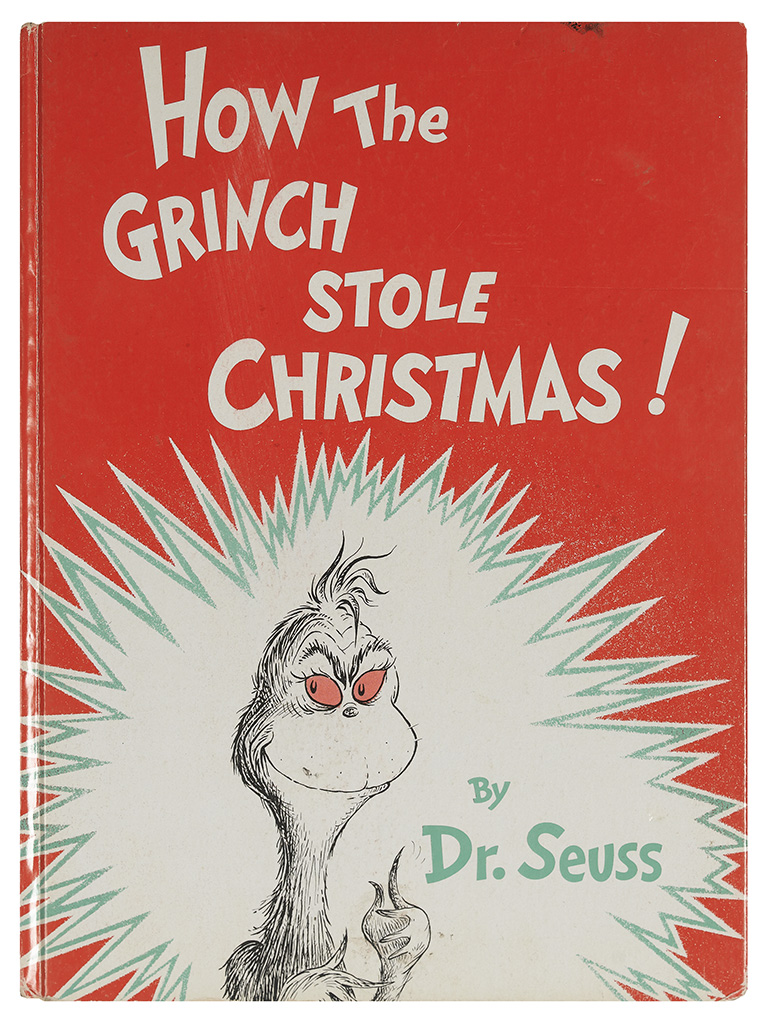 (CHILDRENS-LITERATURE)-Seuss-Dr-(Theodore-Geisel)-How-the-Grinch-Stole-Christmas
