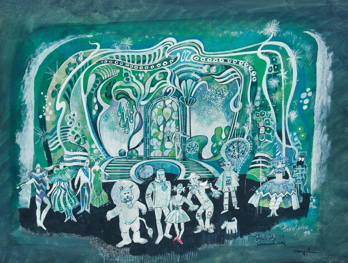 THEATER SET DESIGN AFRICAN-AMERICAN Wizard of Oz. TOM H. JOHN. Emerald City.