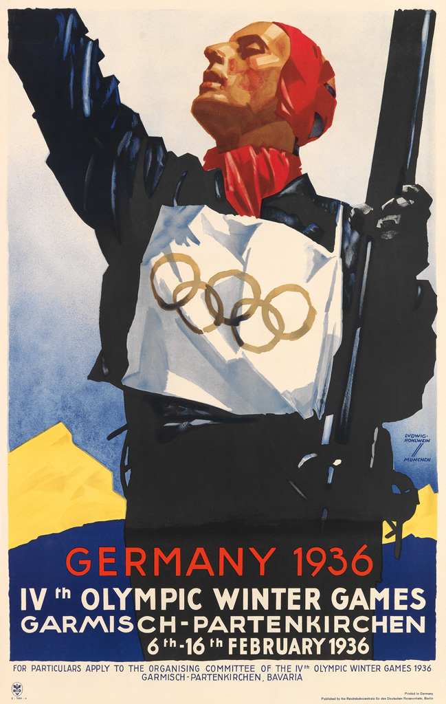 LUDWIG-HOHLWEIN-(1874-1949)-OLYMPIC-WINTER-GAMES--GERMANY-19