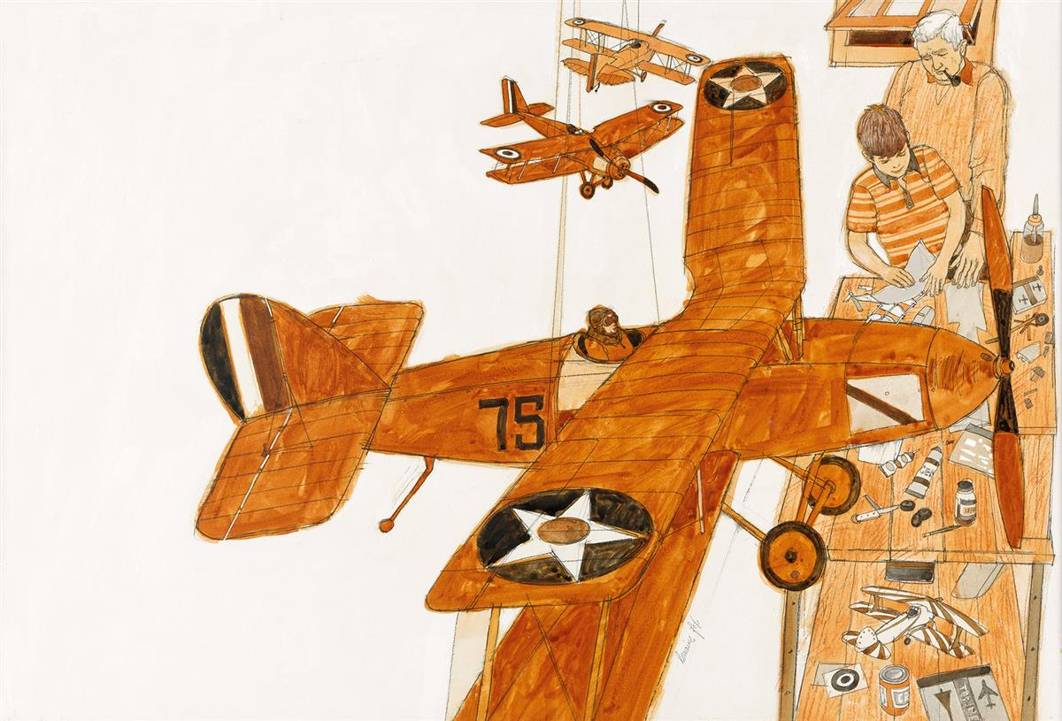 CHILDRENS AIRPLANES LORRAINE FOX. Giving Youngsters What They Need-No Strings Attached.