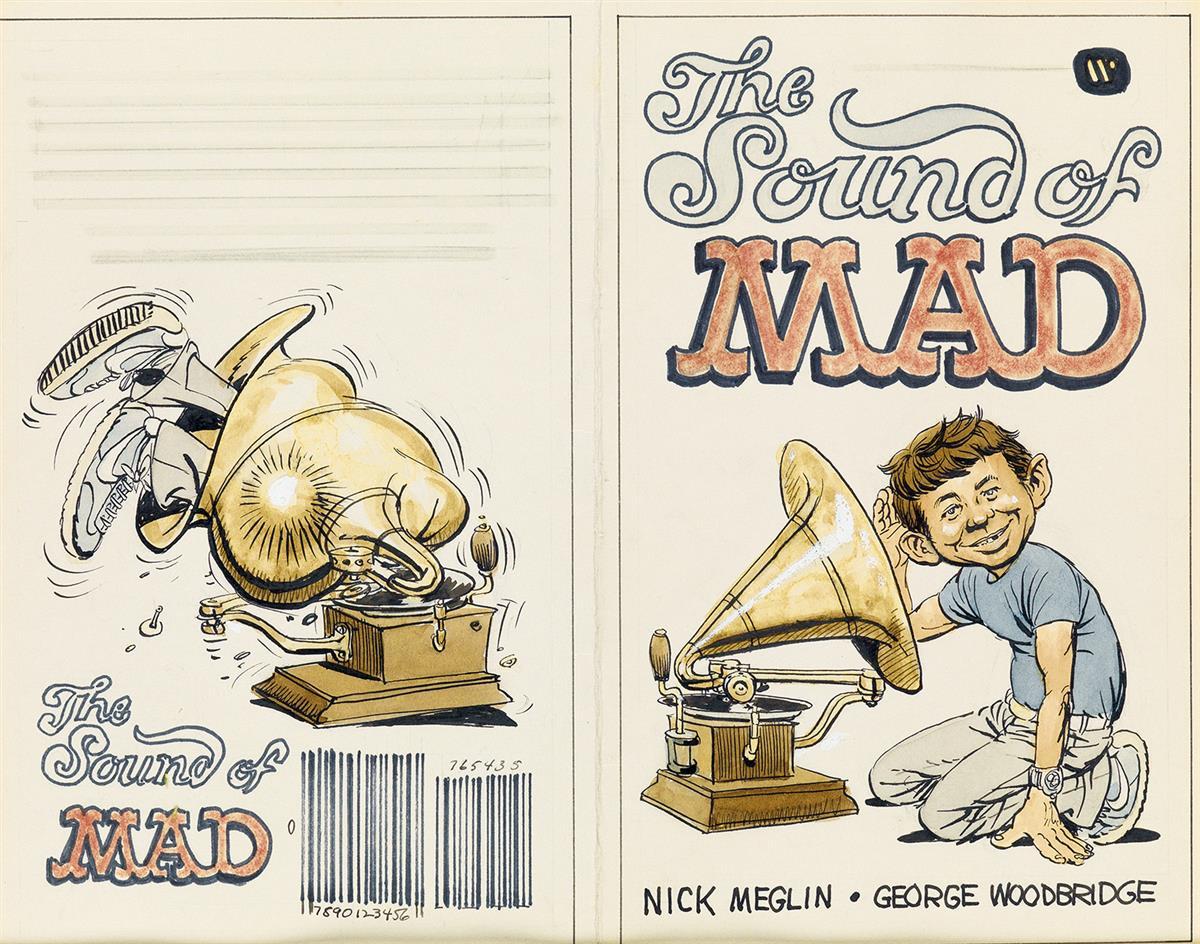 (MAD-MAGAZINE)--GEORGE-WOODBRIDGE-The-Sound-of-MAD