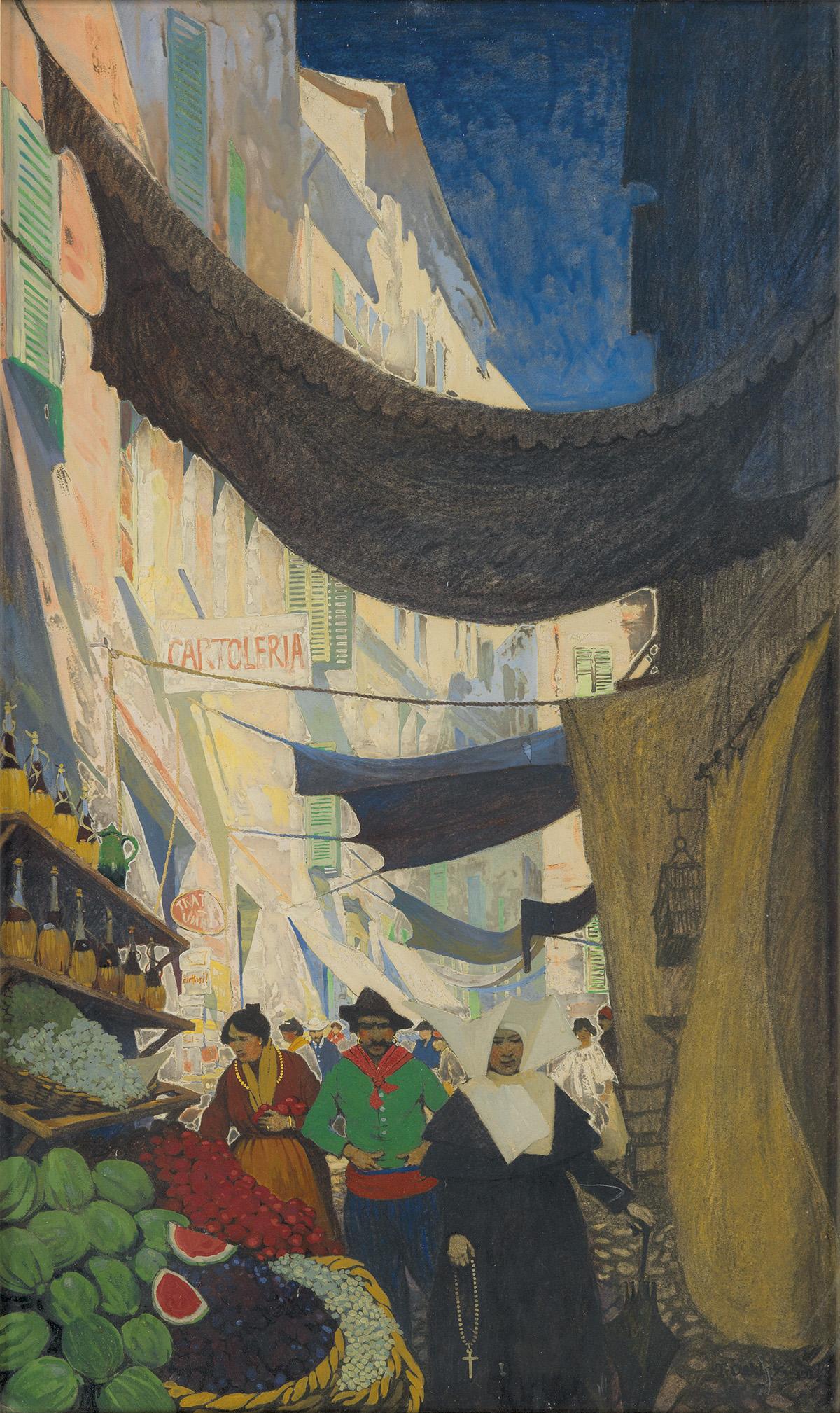 THORNTON OAKLEY. Via Vittorio Emanuele Alassio.