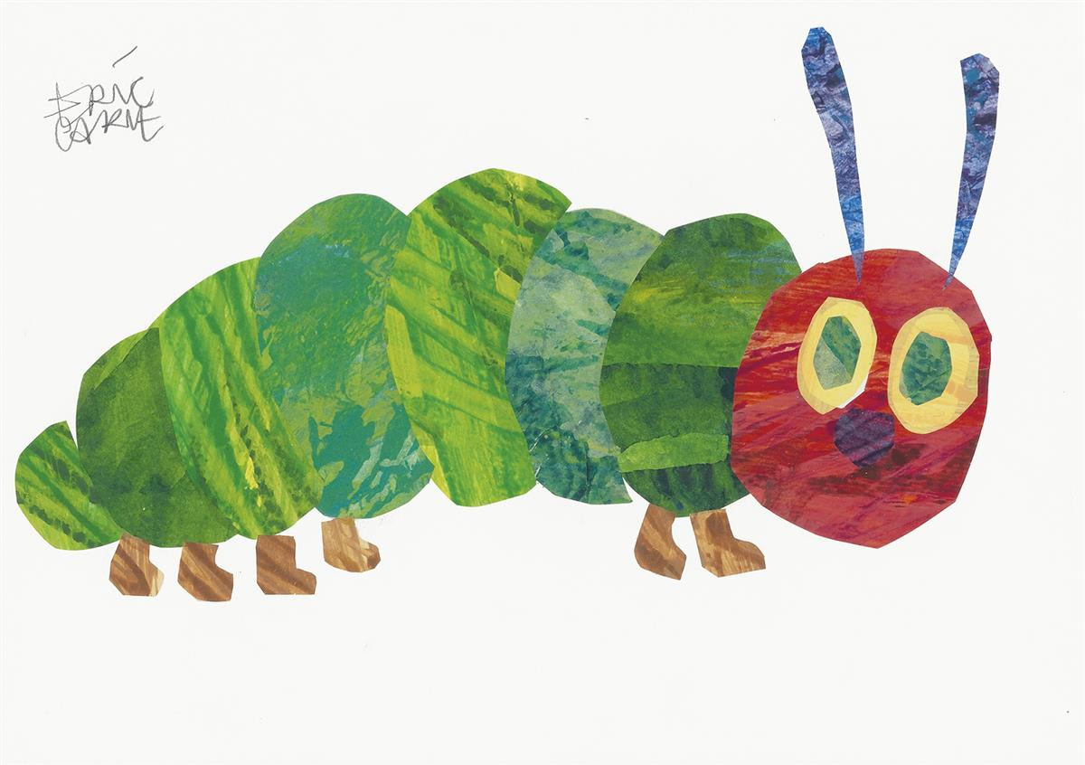 ERIC CARLE. The Very Hungry Caterpillar.