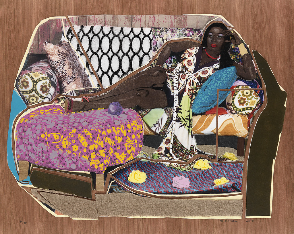 MICKALENE THOMAS (1971 -  ) Youre Gonna Give Me The Love I Need.