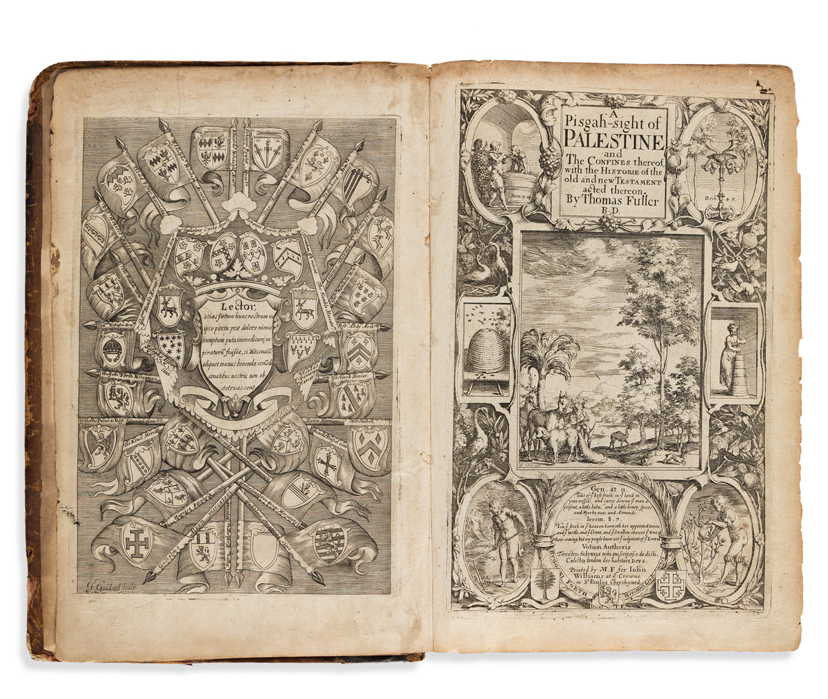 Fuller, Thomas (1608-1661) A Pisgah-Sight of Palestine and the Confines thereof, with the History of the Old and New Testament.