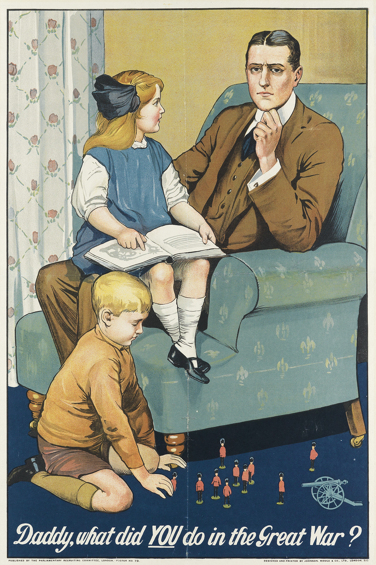 SAVILE-LUMLEY-(1876-1960)-DADDY-WHAT-DID-YOU-DO-IN-THE-GREAT